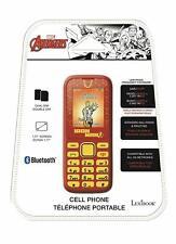 Marvel Avengers Iron Man Cell Phone dual sim Phone BLUETOOTH SMS torch FM radio