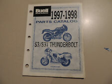 Teile Katalog parts list catalog BUELL Thunderbolt S3 / S3-T Modelljahr 1997/98