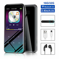Portable MP3 Player Bluetooth Touch Screen OLED Sport Lossless Sound HIFI Music