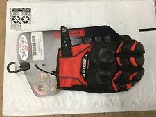 Joe Rocket JOEROCKET1056-1102 Phoenix 4.0 Gloves Red/Black/Silver small glove