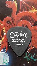 OZZY Ozzfest Zakk Wylde 2002 Tour guitar pick