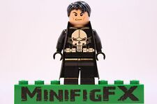 Lego THE PUNISHER Custom Machine Printed Minifig Marvel Superhero Frank Castle