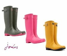 Joules Patternless Pull On Boots for Women