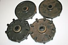 nos Yamaha snowmobile front axle guide wheels sprockets 1994-98 vmax vmax-4