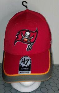 Tampa Bay Buccaneers NFL '47 MVP Adjustable Cap Hat Football Strapback TB Men's