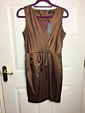 Closet Brown Bridesmaid Prom Party Dress Size 12 Christmas