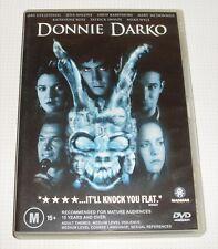 DVD - Donnie Darko - Gyllenhaal - Barrymore - Swayze - 113 mins - REDUCED!!