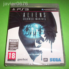 ALIENS COLONIAL MARINES LIMITED EDITION NUEVO Y PRECINTADO PAL ESPAÑA PS3