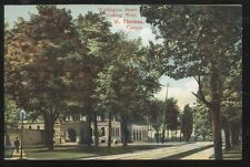 Postcard ST THOMAS Ontario/CANADA  Welling Street Looking West view 1907