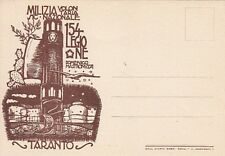 A2038) TARANTO, M.V.S.N. 154 LEGIONE DOMENICO MASTRONUZZI.