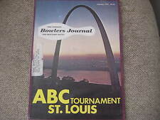 BOWLERS JOURNAL 1978  PBA Bowling RARE Article with Roth,Anthony,Weber ,Johnson