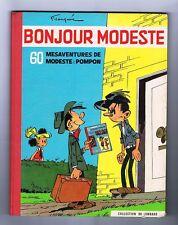 FRANQUIN. Bonjour Modeste. Lombard 1959. EO. TB