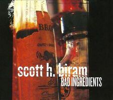 Bad Ingredients [Digipak] by Scott H. Biram (CD, Oct-2011, Bloodshot)