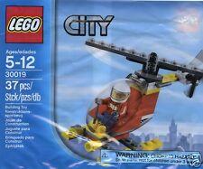 LEGO CITY Feuerwehr Hubschrauber mit Pilot 30019