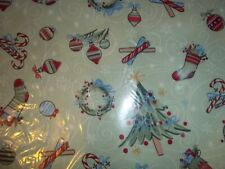 "1  YARD  LONGABERGER ALL THE TRIMMINGS  CHRISTMAS  FABRIC / 58"" W  - NEW!"
