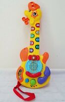 Vtech Zoo Jamz Toddler Learning Guitar Giraffe Light Up Musical Animal Sounds