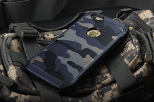 Army Camouflage Protector Soft Rubber Hard PC Back Case Cover For iPhone Samsung