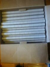 "50 Cardboard Rolls Tubes Extra Long 20 3/4"" Not Paper Towels Art/Crafts/School"
