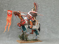 Polish Winged hussars attacking. Elite tin soldiers Shcherbakov-HQModels 54 mm