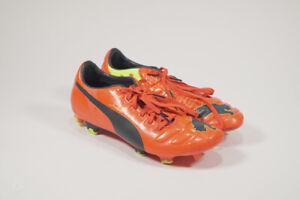 Puma evoSPEED 2 FG Mens Soccer Cleats / Boots - Orange SZ 8