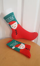 Sock It To Me Santa Socks Funny Joke Gift Hipster Ladies Size UK 4-7  EUR 37-41