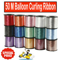 50 M Curling String Balloon Ribbon Colour Balloons Weight Gift Decoration Fancy