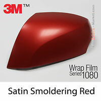 152x400cm FILM Satiné Rouge 3M 1080 S363 Vinyle COVERING Car Wrapping Wrap