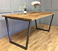 Industrial John Lewis Calia U Frame Dining Table Reclaimed Vintage Antique Calia