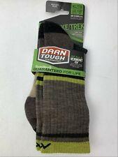 Men's Merino Wool Hiker Boot Sock Light Cushion Socks Style 1952 Brown Size XL