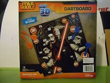 """Star Wars Rebels Toy Dartboard Game, Super 3D. Approx 11"""" by 11"""". Ages 8+"""