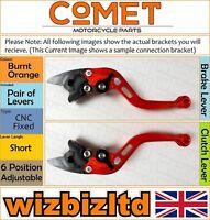 Yamaha FZ-1 2006-2014 [non-Pliant Court Orange] [ Comet Réglable Course Levier]