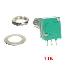 10X10 K Ohm linear Rotary Pot-Potentiometer mit Mutter & Distanz GY