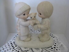 "Precious Moment ""Christmastime Is For Sharing"" ~ **Gift Idea ~ Retired"