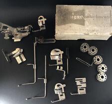 Vintage Kenmore Sewing Machine Greist Attachments w Box 17 Misc Parts