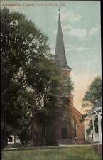 Talladega AL Presbyterian Church c1910 Postcard