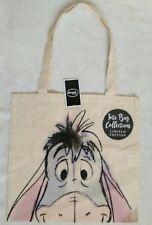 BNWT Disney Eeyore Canvas Tote Shopping Reusable Folding Hand Bag Gift