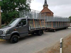 Gitterboxen Holz Stahl PE Palette IBC Spaltautomat Spalter Kreissäge Brennholz