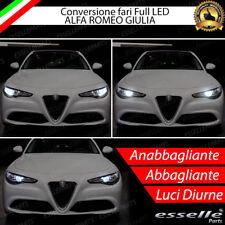 KIT FARI FULL LED ALFA ROMEO GIULIA ANABBAGLIANTI H7 + ABBAGLIANTI DIURNE H15