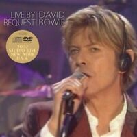 David Bowie Live By Request 2002 New York 1 CD 1 DVD Set 15 Tracks Music
