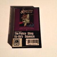 BRIMSTONE & TREACLE SOUNDTRACK - Cassette Tape - EX - Police,Sting,Go'Go's,RARE!