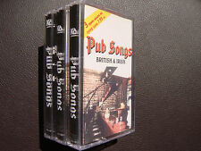 3 pack British and Irish Pub Songs AUDIO CASSETTES Sealed, Phil's Liverpool Band