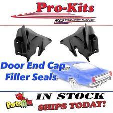 Fits 67-69 70 71 72 Dart Valiant Hardtop Convertible Door End Cap Filler Seals
