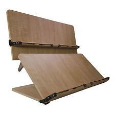 [204D] NICE Book Stand Portable Wooden Reading Holder Desk bookstands Bible