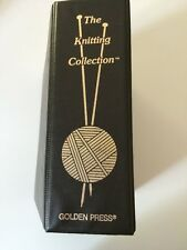The Knitting Collection Ring Binder Golden Press How To Book w Stitches Patterns