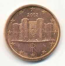 9 x Italien 1 Cent 2002 BU/St.