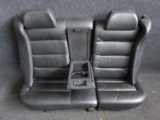 LEDER Rücksitzbank VW Passat 3BG Variant Rückbank Sitze schwarz