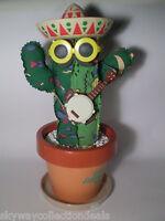 Rock'n Amigos 13'' Dancing Cactus -Takara 1990 -Excellent Condition ,Works Fine!