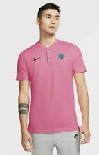 Nike Mens 2021 F.c Barcelona Soccer Blade Collar Polo Shirt Sz M Cq4471-662