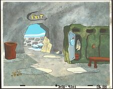 Flintstones Animation Art Cartoon Background Hanna Barbera 1994 Christmas Carol