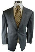 Burberry London Recent Plaid 100% Wool 2-Btn Sport Coat Blazer Jacket 44R